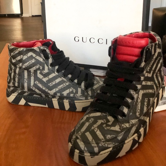df5083c1078c Gucci Other - Gucci GG Caleido MENS hightop shoe. Size 8.5 US